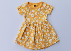 Yellow Flower Dress