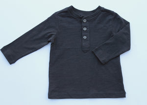 Dark Charcoal Long Sleeve Shirt