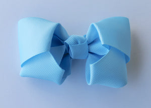 Bright Blue Bow