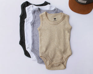 0-3 Month Sleeveless Onesie