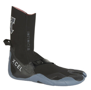 Xcel Infiniti 3mm Split toe boot (Black/Grey)