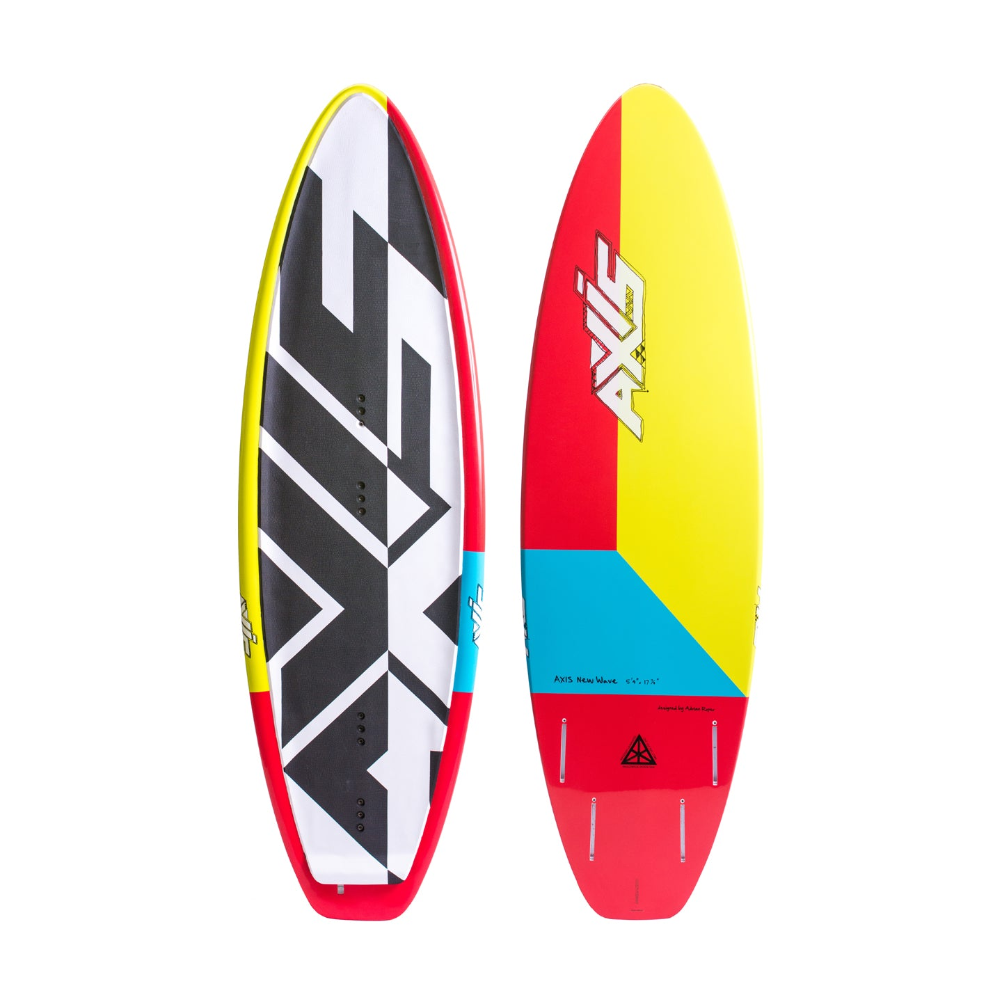 "AXIS NEW WAVE 5'4"" Quad"