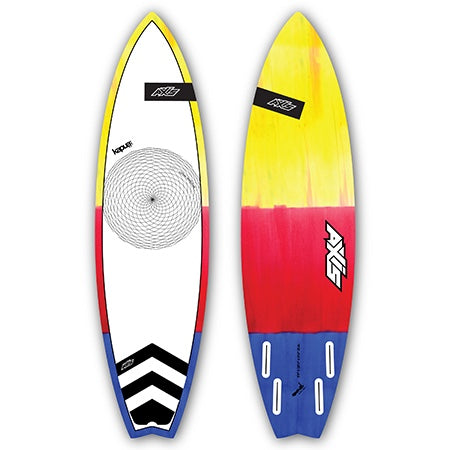 "AXIS Kapua Strapless 5'4"" five fin boxes"