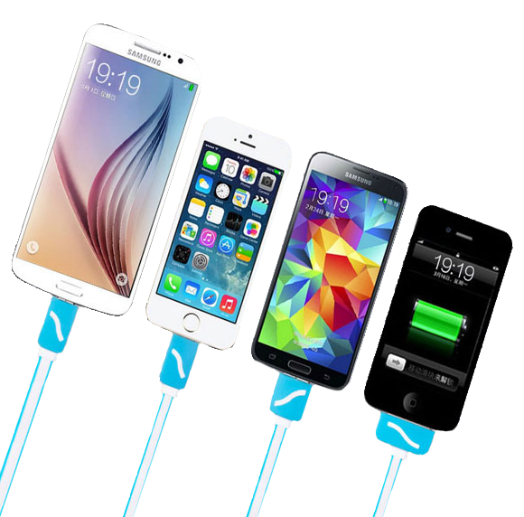 Top Rated Multi Charging Premium Retractable Tangle Free 4 in 1 CHJGD®