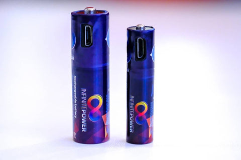 Micro USB Rechargeable AA Battery (2 PACK)