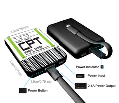 CHJGD® UltraCompact Mini 5000 mAh Power Bank (Cape Town)