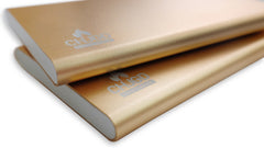 Premium Luxury 4000 mAh Gold Power Bank 1