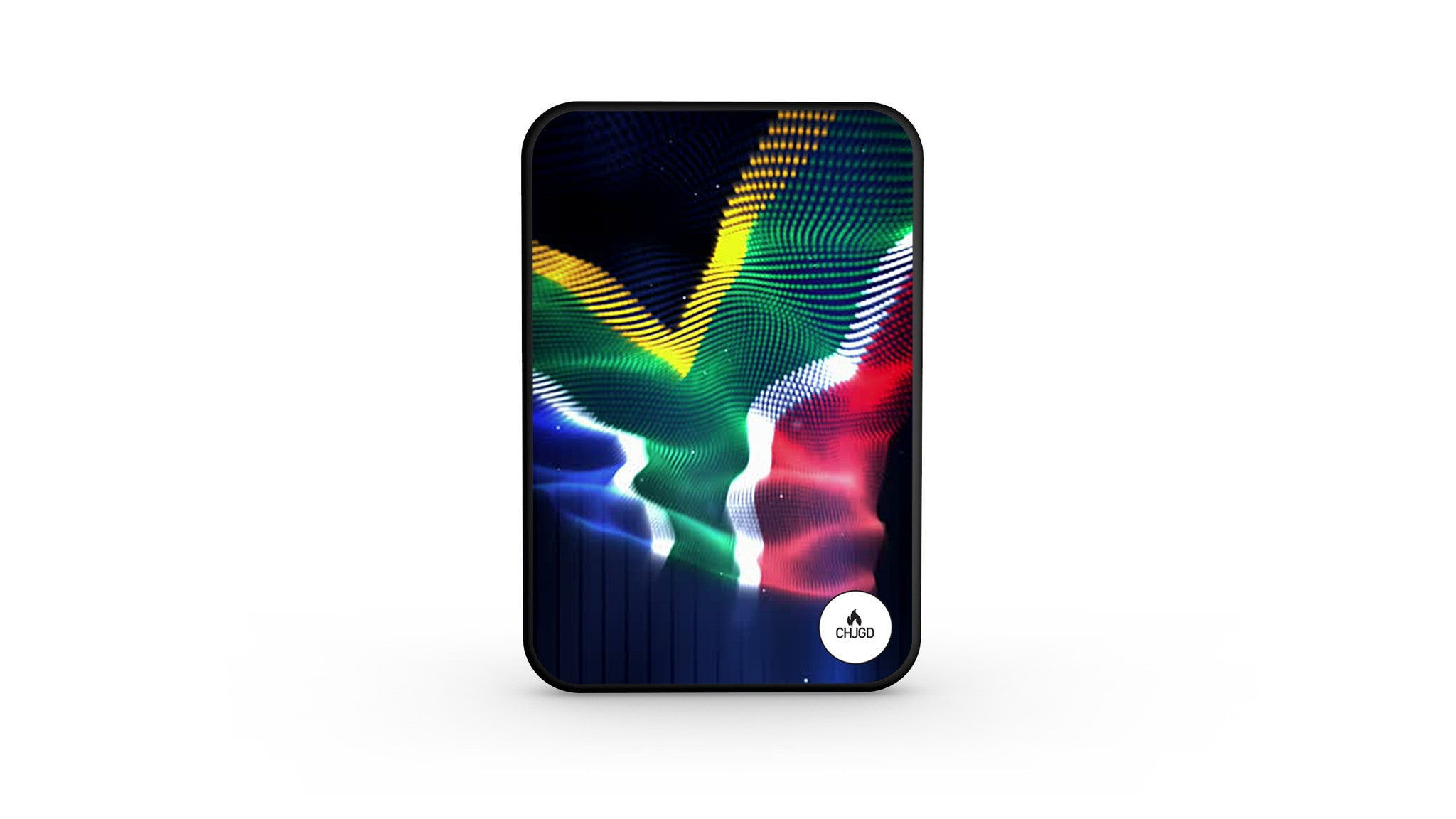 World's Smallest 10,000 mAh Power Bank - CHJGD Ultracompact (South African Flag)
