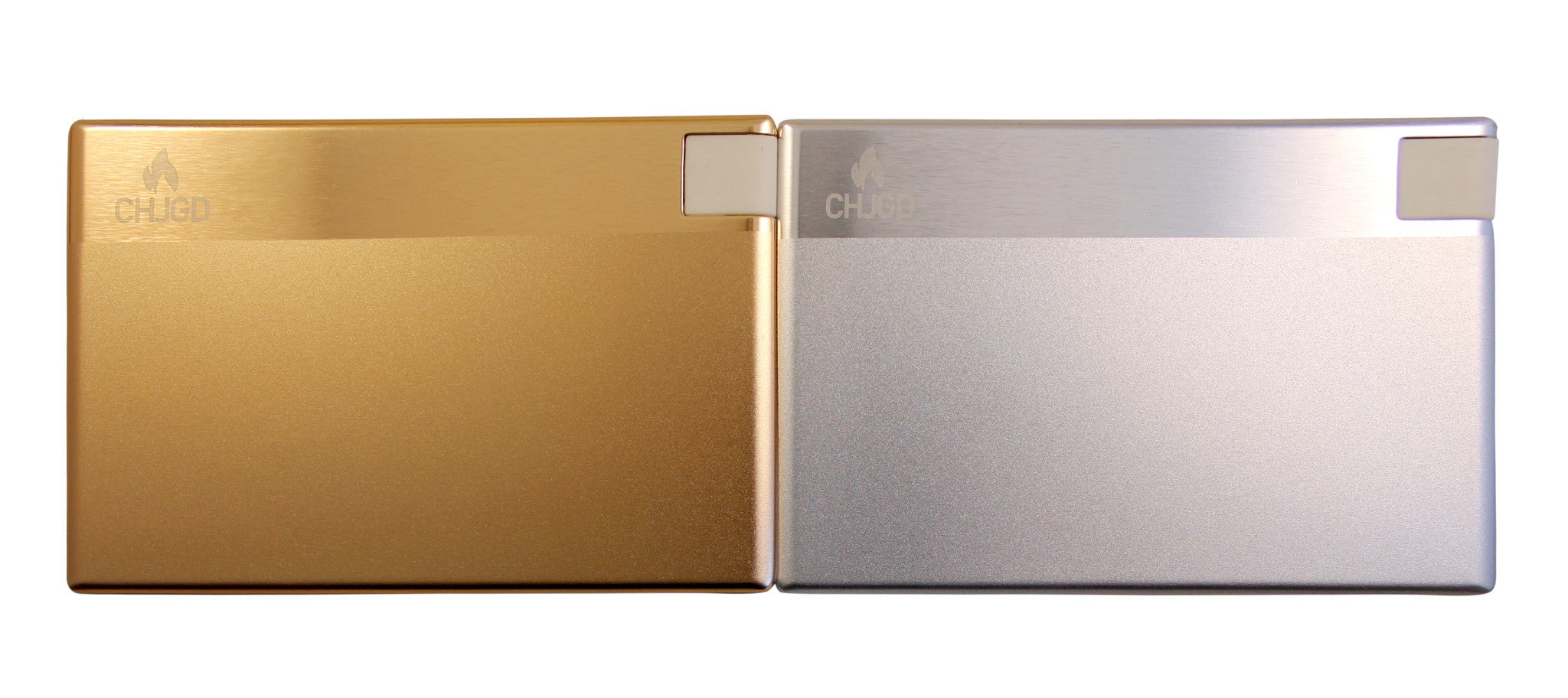 CHJGD® Power 1500 mAh Super Slim Credit Card Size Power Bank (Gold)