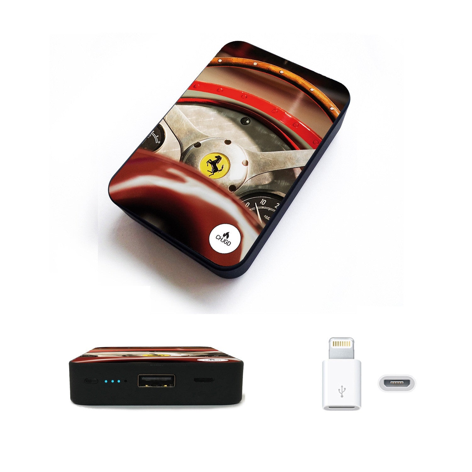 World's Smallest 10,000 mAh Power Bank (Ferrari)