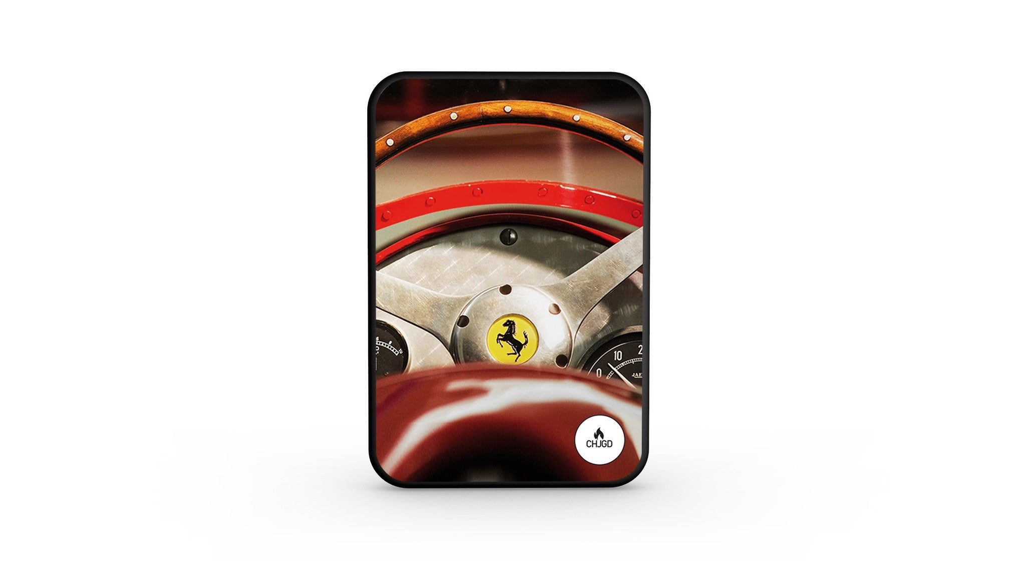 CHJGD UltraCompact Mini 5000 mAh Power Bank (Ferrari Design)
