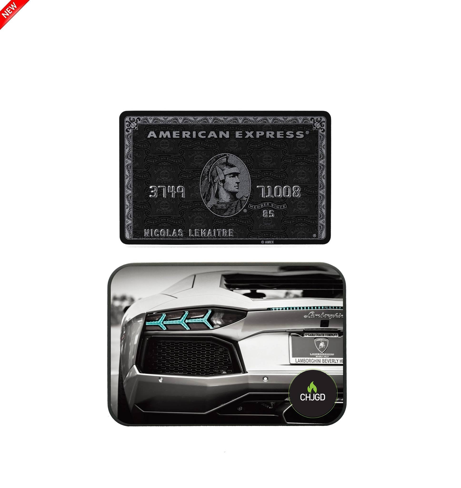 World's Smallest 10,000 mAh Power Bank - CHJGD Ultracompact (Lamborghini)
