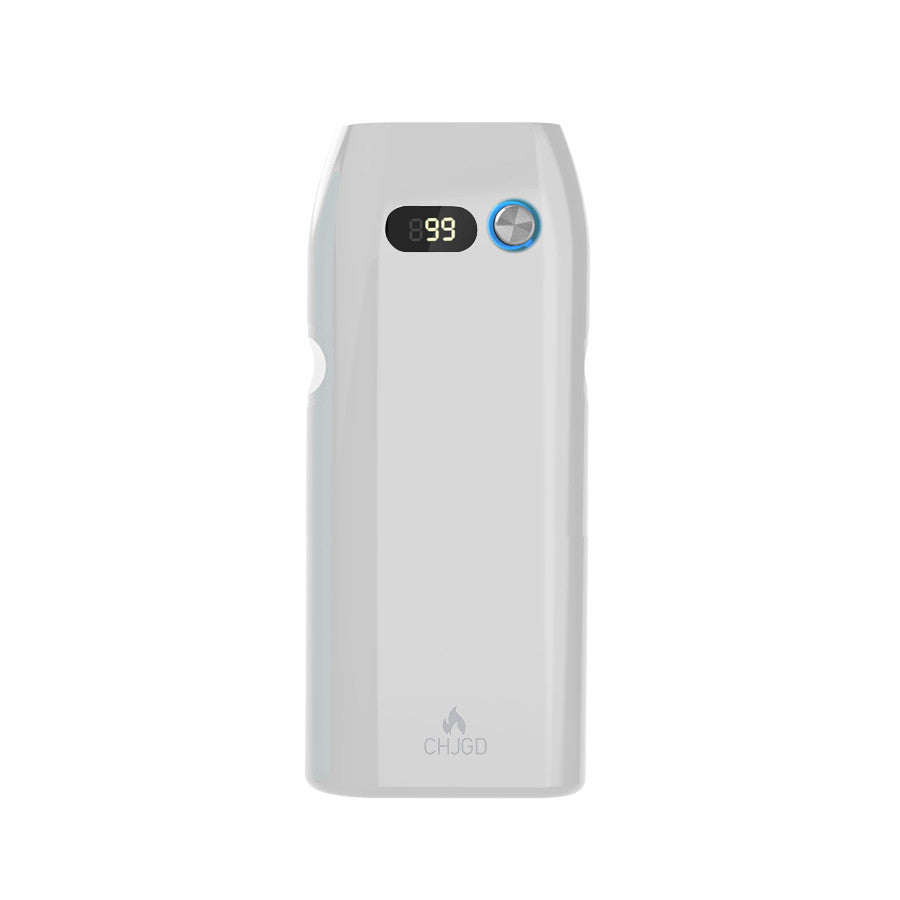 CHJGD® Magnum Opus- Qualcomm Quick Charge 3.0 enabled 21,000 mAh Power Bank with LCD display (White)