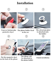 PHRONE™ THE 360 DEGREE UNIVERSAL MAGNETIC PHONE HOLDER - ZLIFEA