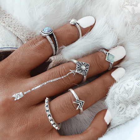 zlifea Arrow Ring  - 6pcs - ZLIFEA