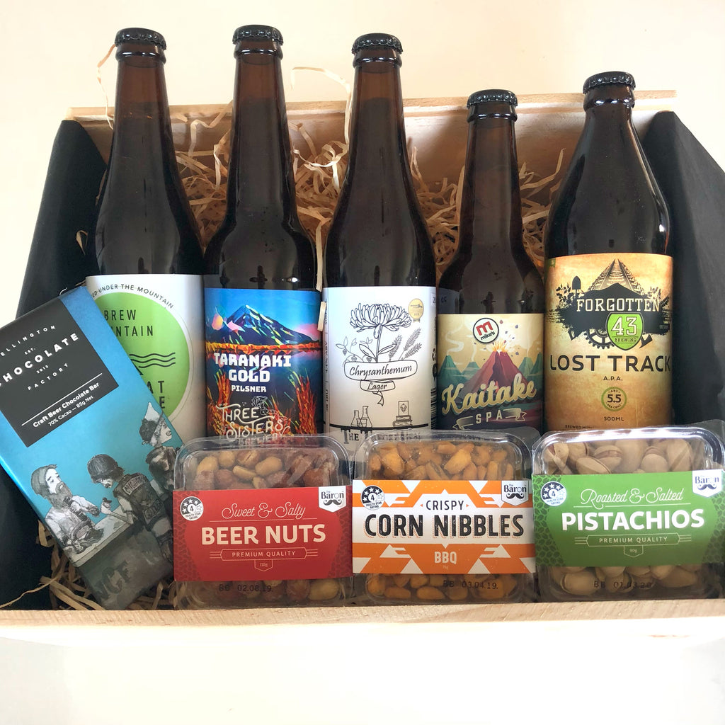 THE NAKI - CRAFT BEER TASTER PACKAGE - Delivered