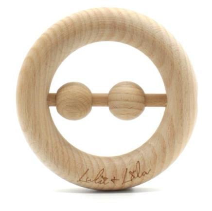 Beechwood Rattle & Teether