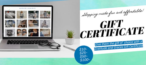 Gift Certificate~ Choose $10, $25, $50, or $100-