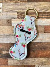 Chapstick/Lipgloss Holder Keychain- Assorted Designs