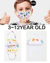-CHILD Reusable and Washable Fashion Thin Protective Face Coverings