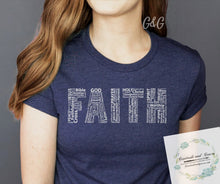 """Faith Typography"" Graphic Tee***MADE TO ORDER FOR YOU!"