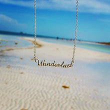 Wanderlust  Necklace in Silver or Gold