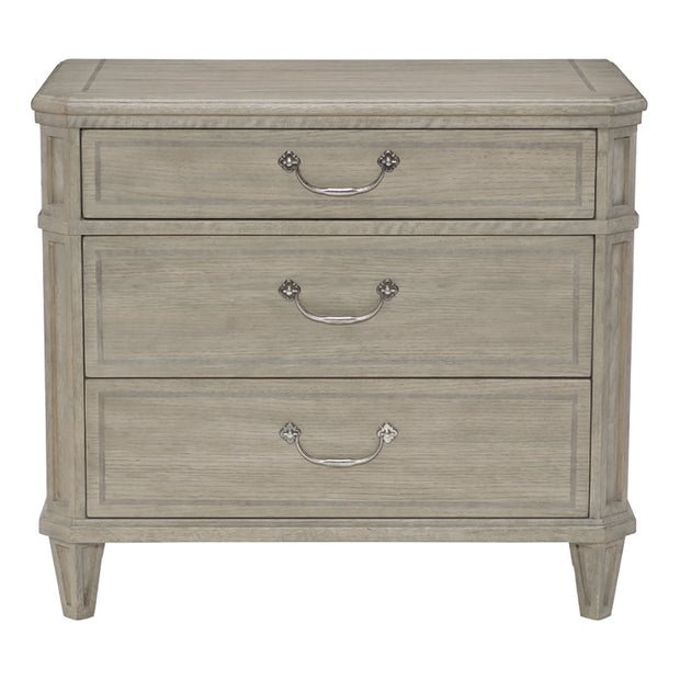 Marquesa Three Drawer Nightstand