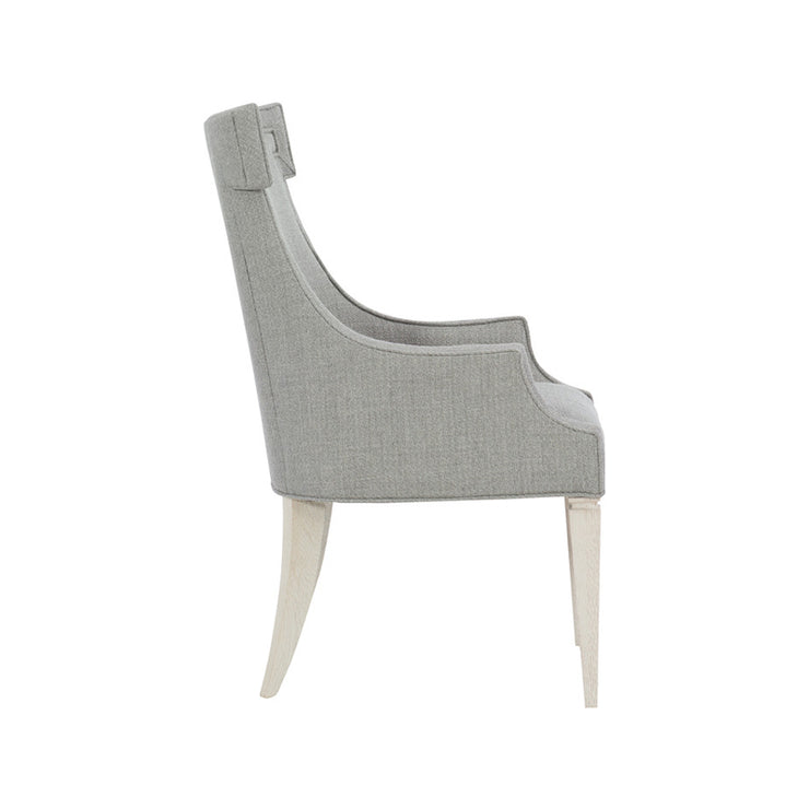 Domaine Blanc Upholstered Arm Chair