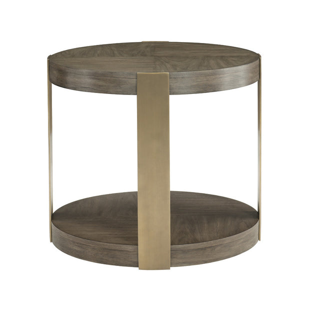 Profile Round Chairside Table