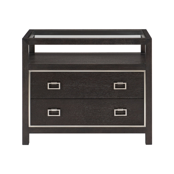 Decorage Two Drawer Nightstand