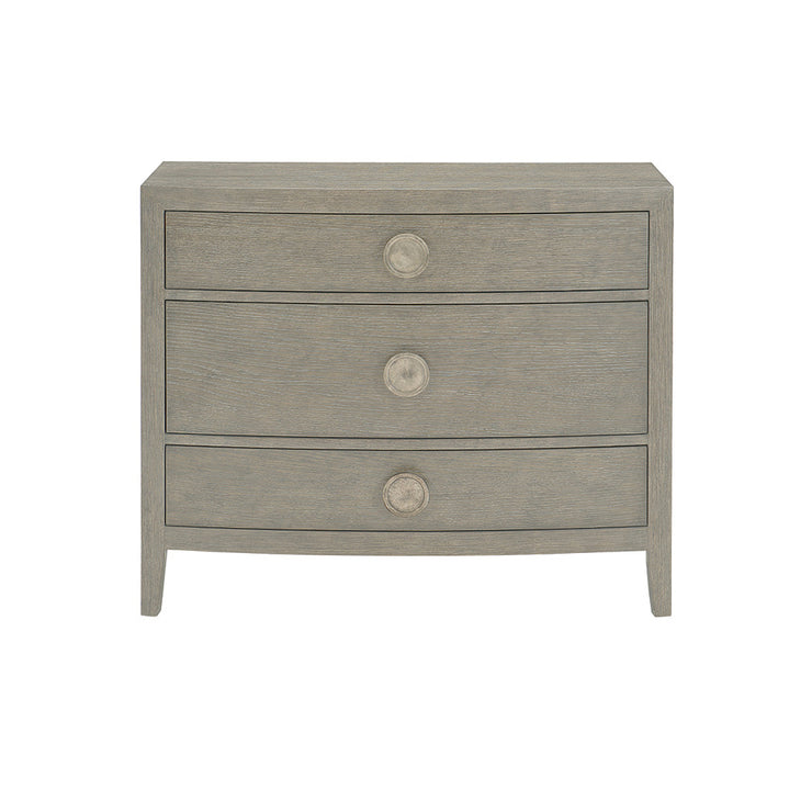 Linea Bowed Bachelor's Chest - Greige