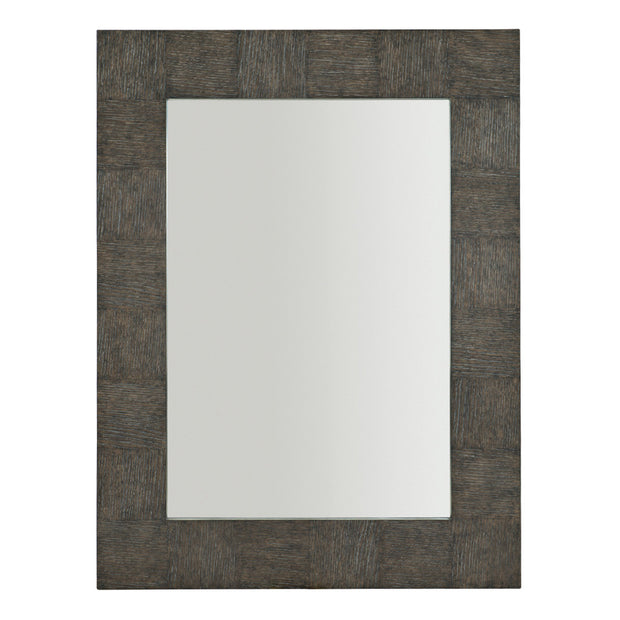 Linea Rectangle Mirror - Charcoal