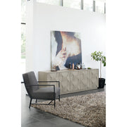 Linea Five Door Entertainment Console - Greige