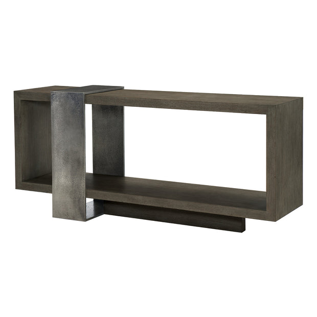 Linea Console Table - Charcoal