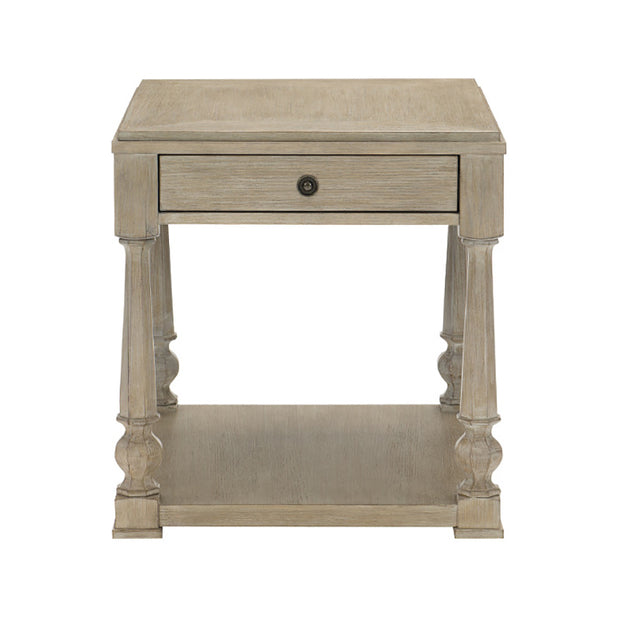 Santa Barbara One Drawer End Table