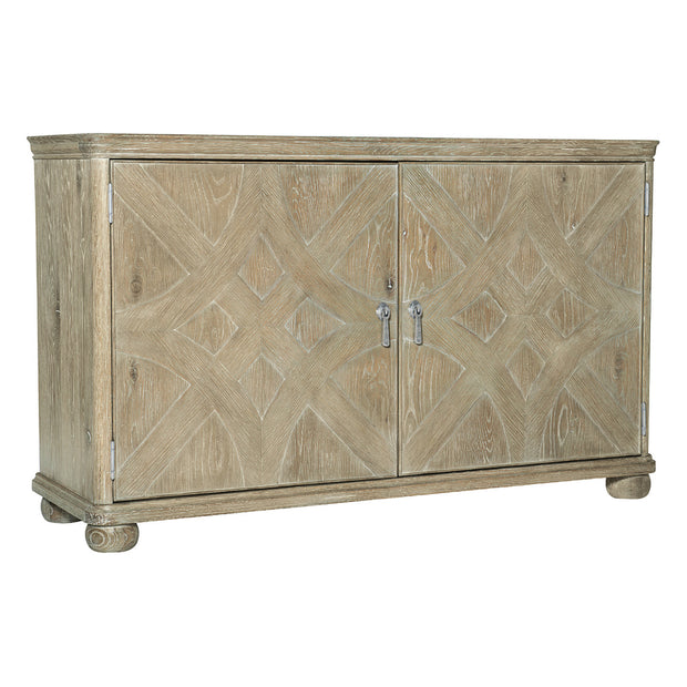 Rustic Patina Accent Chest - Light