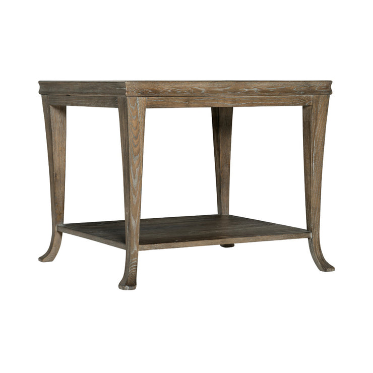 Rustic Patina End Table - Dark