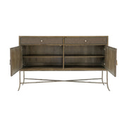 Rustic Patina Two Door Buffet - Dark