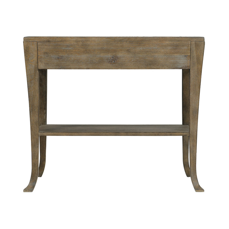 Rustic Patina One Drawer Nightstand - Dark