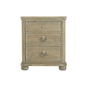 Rustic Patina Three Drawer Bachelor's Chest - Light