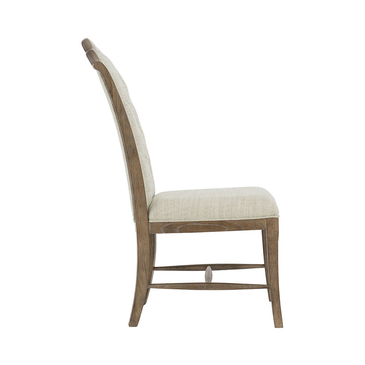 Rustic Patina Side Chair - Dark