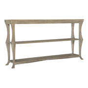 Rustic Patina Console Table - Light