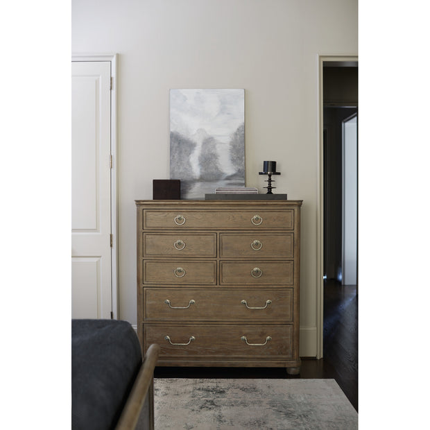 Rustic Patina Seven Drawer Tall Chest - Light