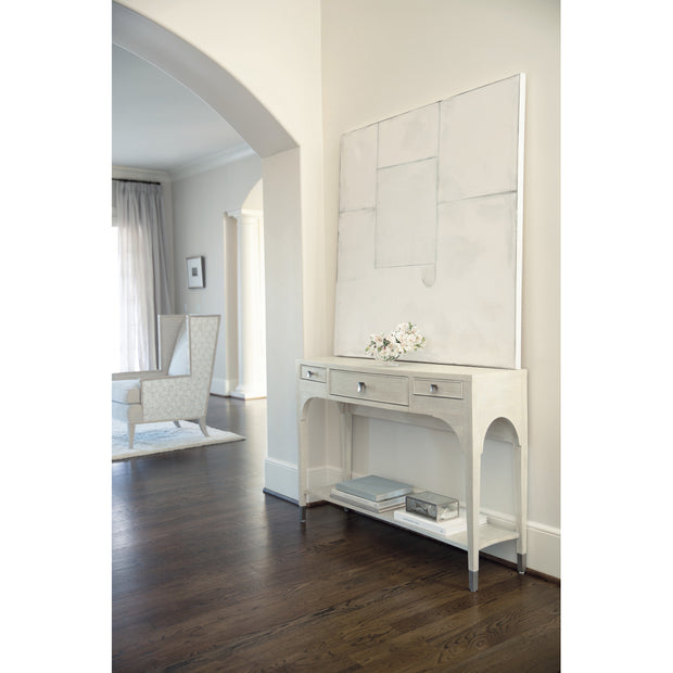 East Hampton Three Drawer Console Table