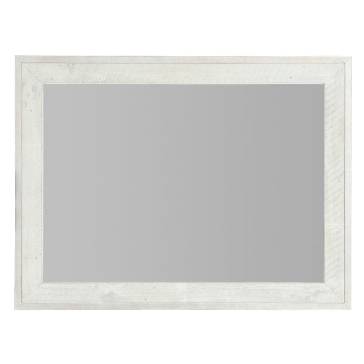 Denys Mirror - Brushed White