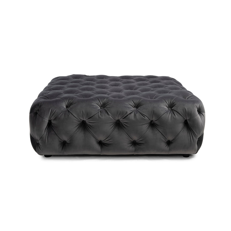 All Of Me Ottoman - Charcoal