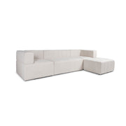 Orpheus Sectional Sofa - Natural Linen