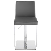 Matteo Adjustable Stool - Dark Grey