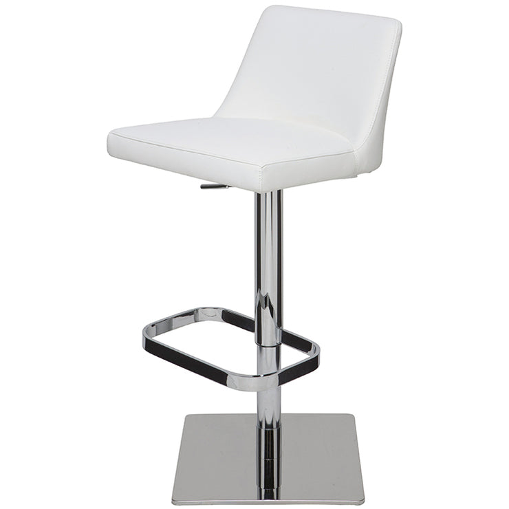 Rome Adjustable Stool - White