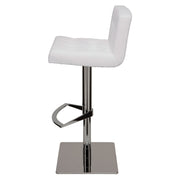 Preston Adjustable Stool - White